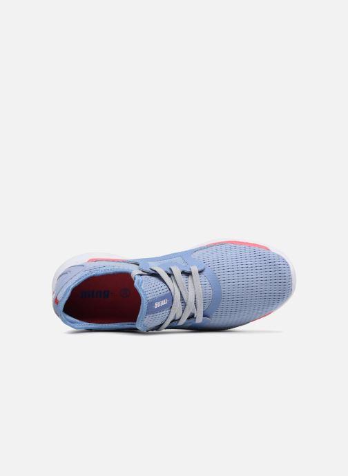 Baskets MTNG 69242 Bleu vue gauche