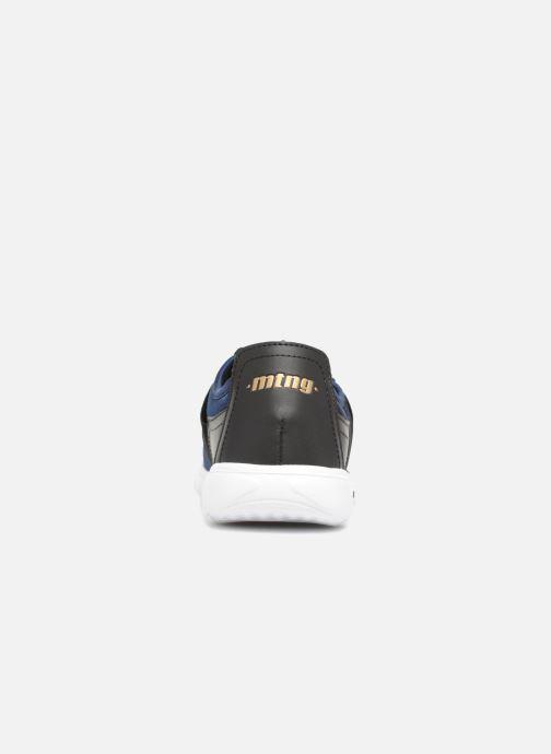 Baskets MTNG 69268 Bleu vue droite