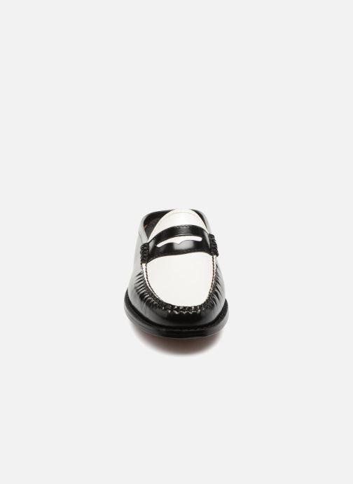Mocassins G.H. Bass WEEJUN Penny slide Noir vue portées chaussures
