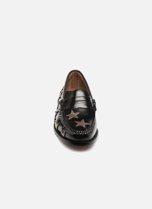 Mocassins G.H. Bass WEEJUN Penny stardom Noir vue portées chaussures