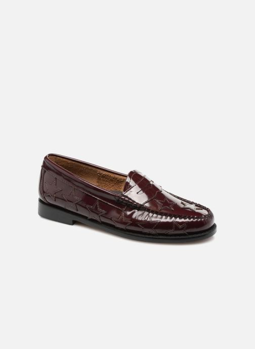 c82cc3310b39 Loafers G.H. Bass WEEJUN Penny stardom Burgundy detailed view  Pair view
