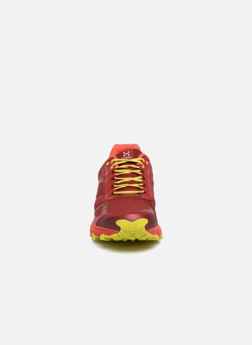 Chaussures de sport HAGLOFS Gram Gravel Men Orange vue portées chaussures