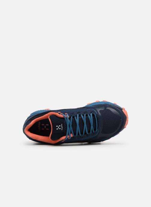 Zapatillas de deporte HAGLOFS Gram Gravel Women Azul vista lateral izquierda
