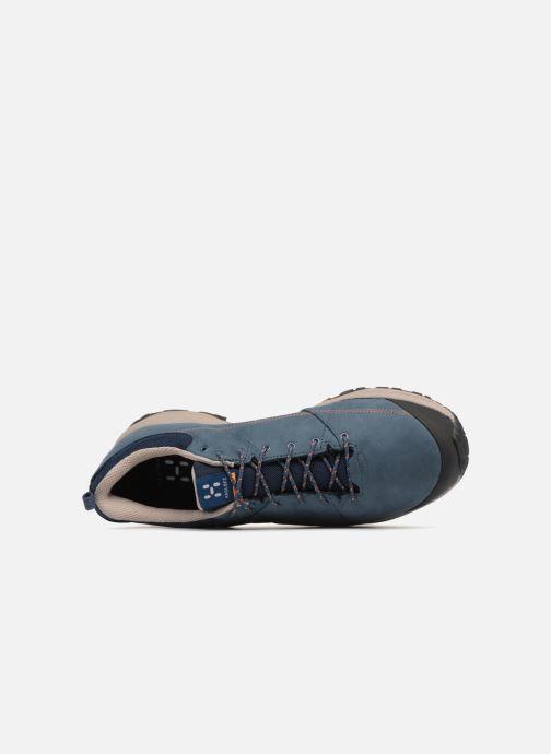Zapatillas de deporte HAGLOFS Mistral GT M Azul vista lateral izquierda