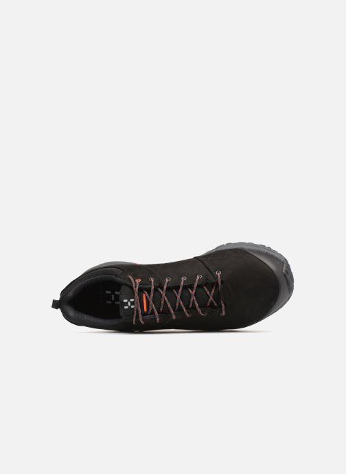 Chaussures de sport HAGLOFS Mistral GT M Noir vue gauche