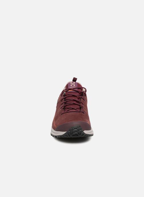 Chaussures de sport HAGLOFS Mistral GT W Bordeaux vue portées chaussures