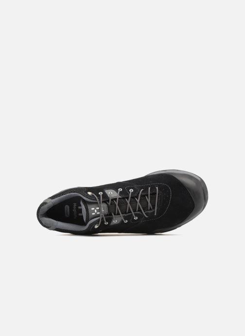 Chaussures de sport HAGLOFS Roc Claw GT Men Noir vue gauche
