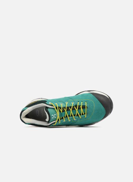 Zapatillas de deporte HAGLOFS Roc Claw GT Women Verde vista lateral izquierda