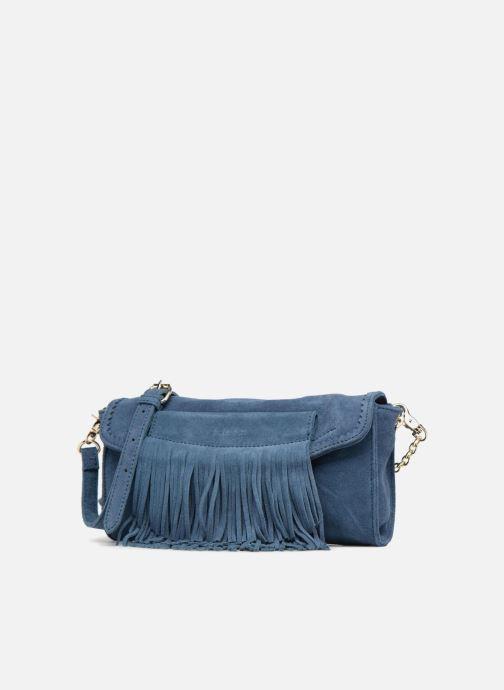 Sacs pochettes Kate Lee CILEY Bleu vue portées chaussures