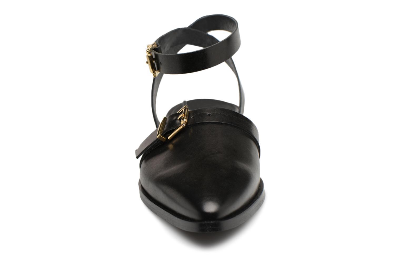 Sandali e scarpe aperte Vero Moda Fry Nero modello indossato