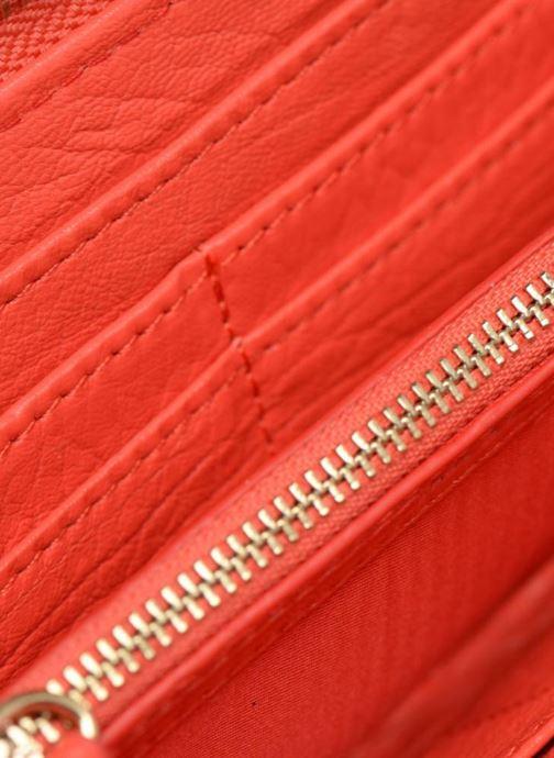 Kleine lederwaren Kate Lee MILA Roze achterkant