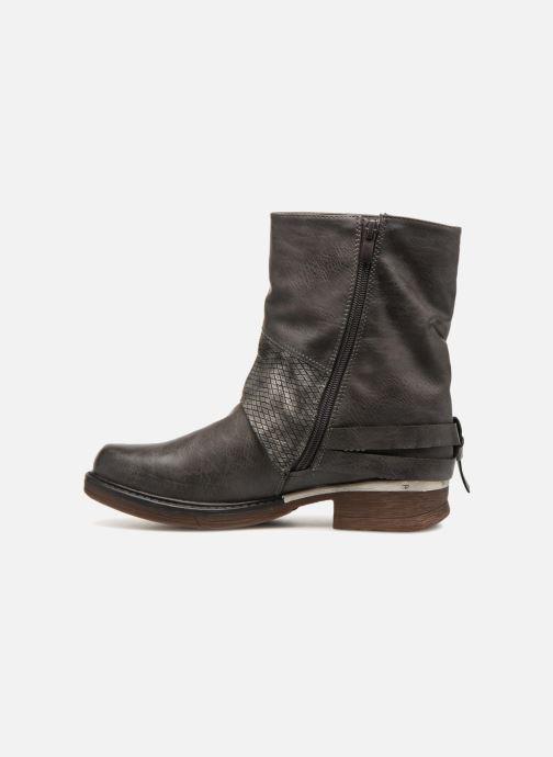 Bottines et boots Kaporal Shanahee Gris vue face