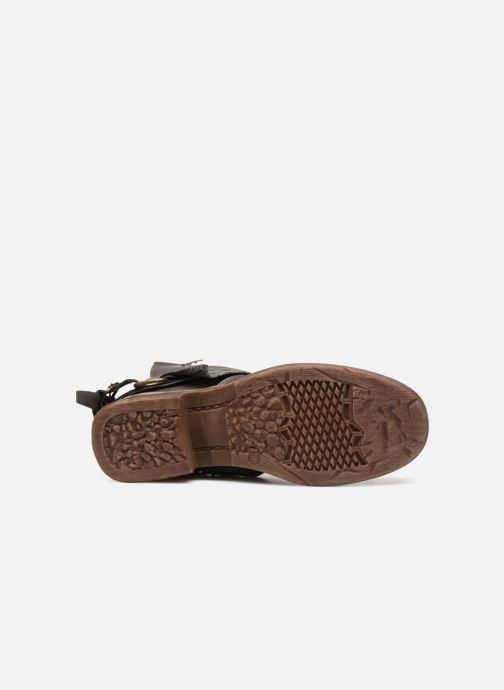 Bottines et boots Kaporal Shanahee Gris vue haut