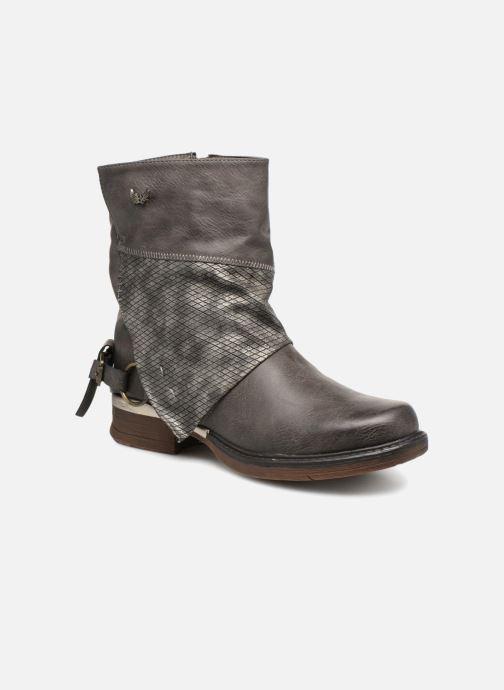 Bottines et boots Kaporal Shanahee Gris vue détail/paire