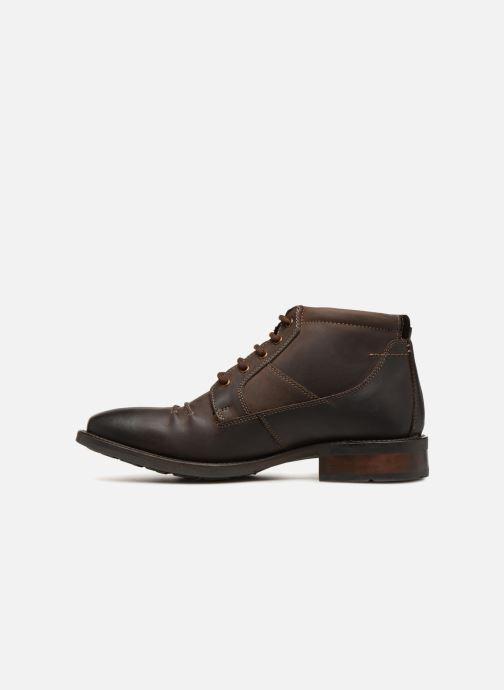 Bottines et boots Kaporal Grand Marron vue face