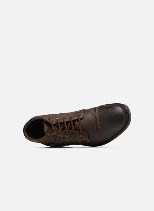 Bottines et boots Kaporal Grand Marron vue gauche