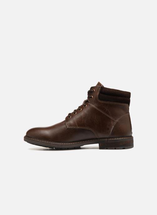 Bottines et boots Kaporal Itou Marron vue face