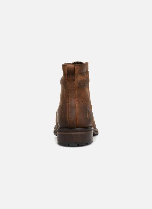 Bottines et boots Kaporal Lino Marron vue droite