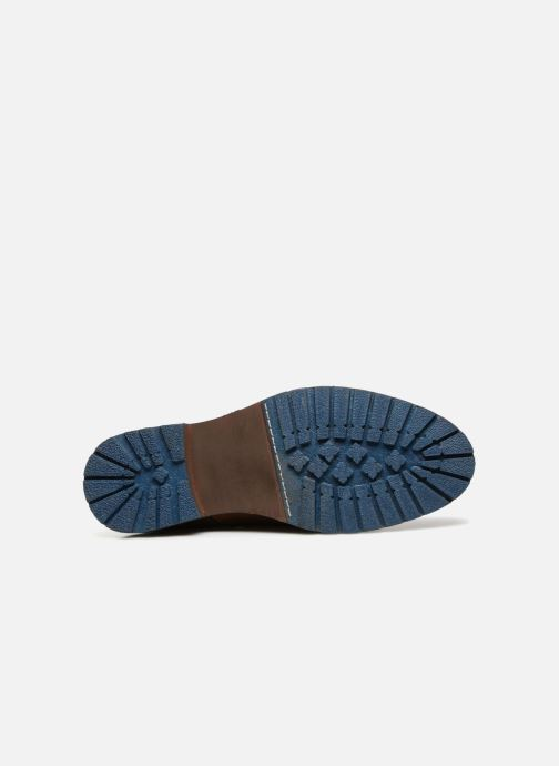 Bottines et boots Kaporal Lino Marron vue haut