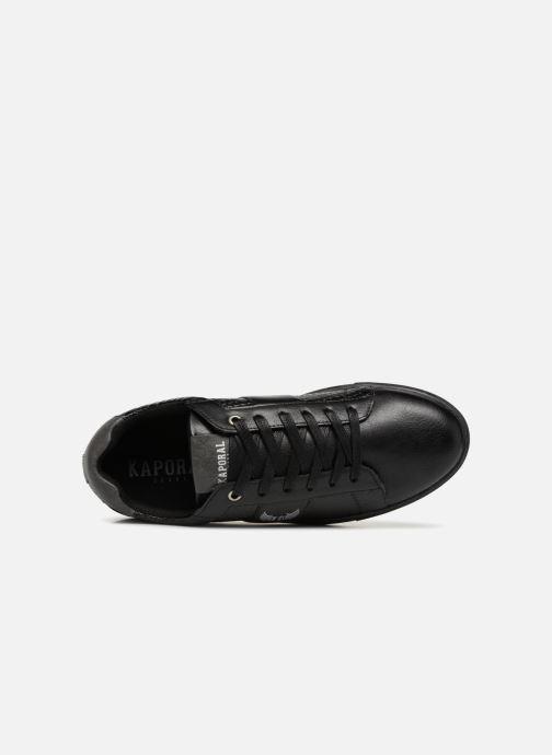 Baskets Kaporal Ozo Noir vue gauche