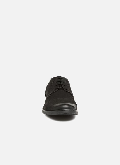 Chaussures à lacets Kaporal Lome Noir vue portées chaussures