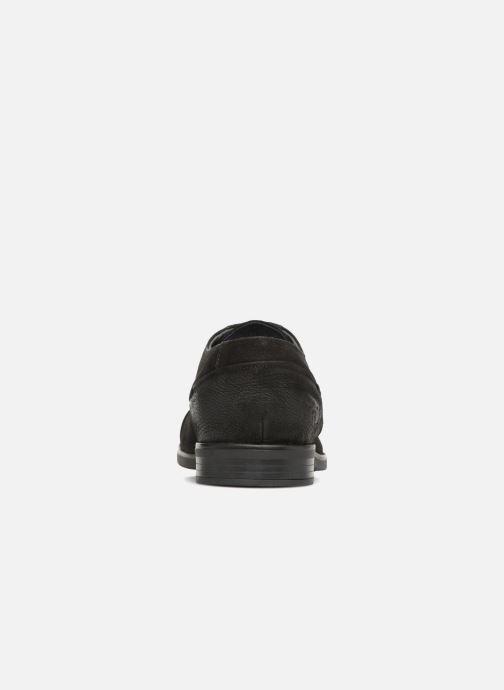 Zapatos con cordones Kaporal Lome Negro vista lateral derecha