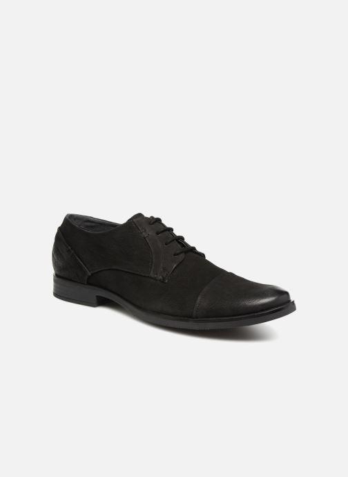 Zapatos con cordones Kaporal Lome Negro vista de detalle / par