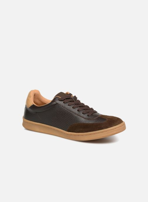 Trainers Kaporal Raturo Brown detailed view/ Pair view