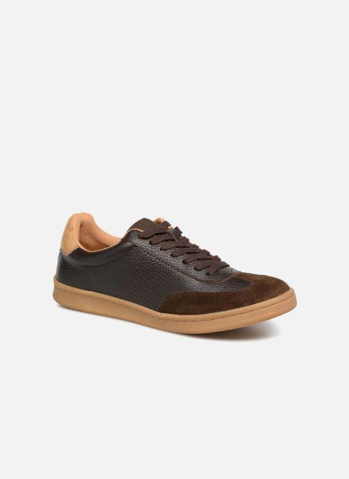 Sneakers Kaporal Raturo Bruin detail