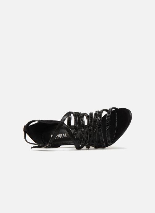 Sandales et nu-pieds Kaporal Tatiana Noir vue gauche