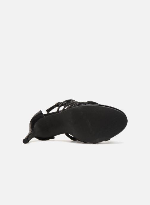 Sandales et nu-pieds Kaporal Tatiana Noir vue haut