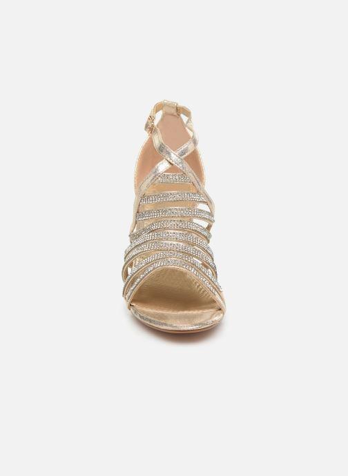 Sandales et nu-pieds Kaporal Tatiana Or et bronze vue portées chaussures