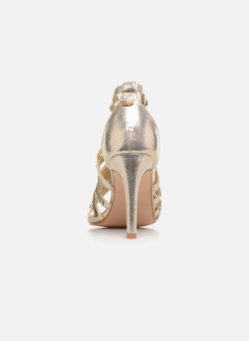 Sandales et nu-pieds Kaporal Tatiana Or et bronze vue droite