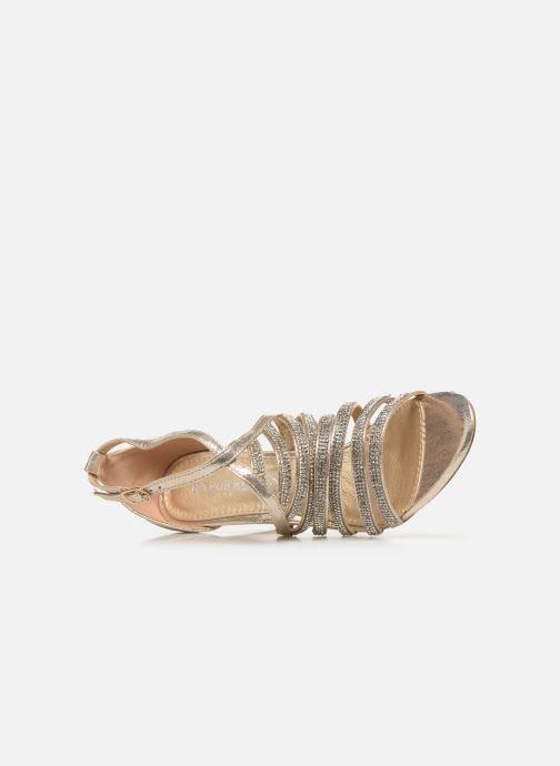 Sandales et nu-pieds Kaporal Tatiana Or et bronze vue gauche