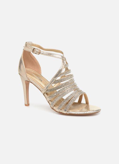 Sandales et nu-pieds Kaporal Tatiana Or et bronze vue détail/paire