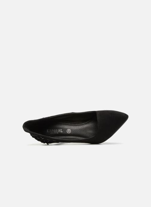 Zapatos de tacón Kaporal Scapa Negro vista lateral izquierda