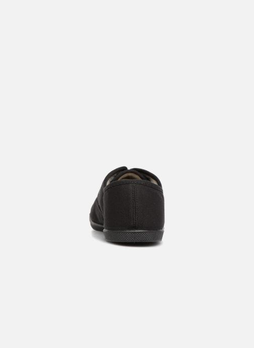 Baskets Kaporal Follow Noir vue droite