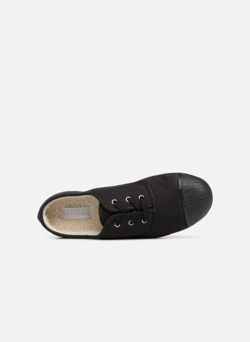 Baskets Kaporal Follow Noir vue gauche