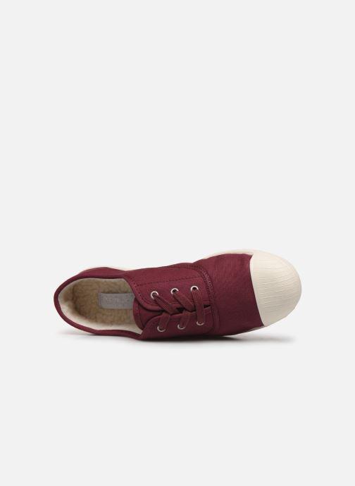 Sneaker Kaporal Follow weinrot ansicht von links