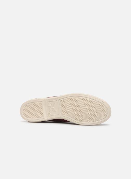 Sneaker Kaporal Follow weinrot ansicht von oben