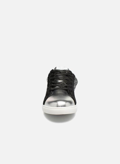 Baskets Kaporal Garina Argent vue portées chaussures