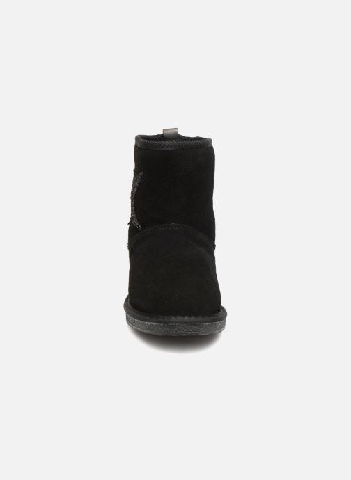 Bottines et boots Kaporal Chamonix Noir vue portées chaussures