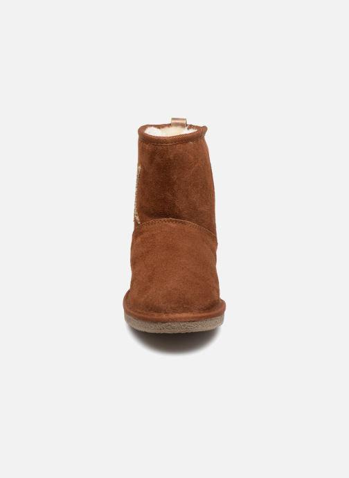 Bottines et boots Kaporal Chamonix Marron vue portées chaussures