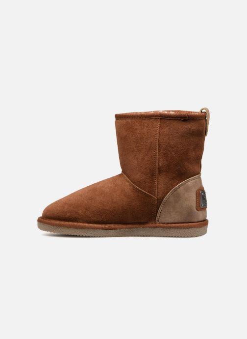 Bottines et boots Kaporal Chamonix Marron vue face