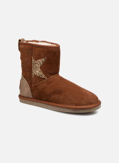 Bottines et boots Kaporal Chamonix Marron vue détail/paire