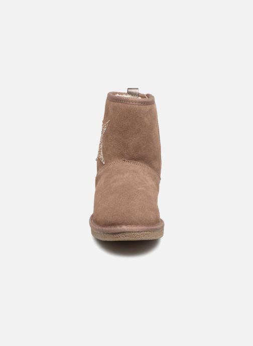 Bottines et boots Kaporal Chamonix Rose vue portées chaussures