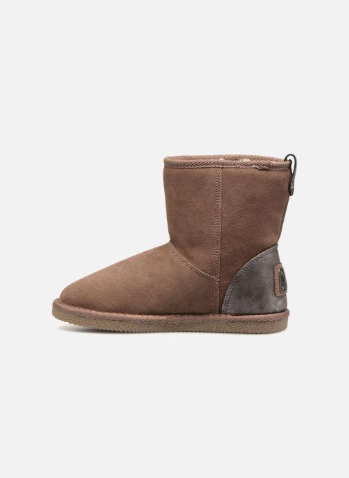 Bottines et boots Kaporal Chamonix Rose vue face