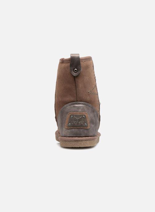 Bottines et boots Kaporal Chamonix Rose vue droite