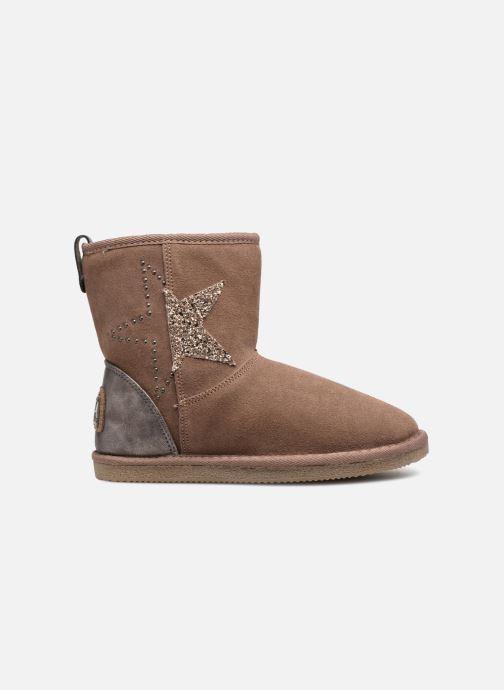 Bottines et boots Kaporal Chamonix Rose vue derrière