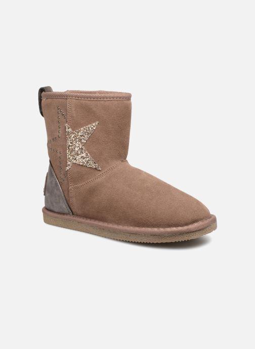Bottines et boots Kaporal Chamonix Rose vue détail/paire
